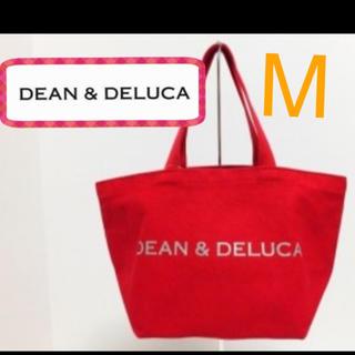 ディーンアンドデルーカ(DEAN & DELUCA)の新品!オシャレ♡DEAN&DELUCA  赤のトートバッグ M  残1(トートバッグ)