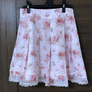 スズタン(suzutan)の【スズタン SUZUTAN】花柄スカート(ひざ丈スカート)