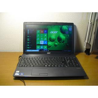 エイサー(Acer)の(うきら)様専用 acer TravelMate 5335 Windows 10(ノートPC)