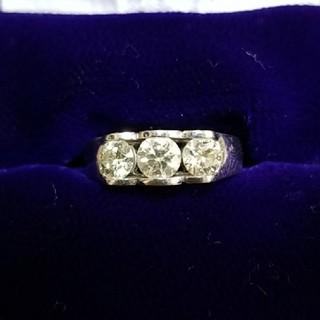 最終値下げ‼️高級ダイヤリング 1カラットオーバー(リング(指輪))