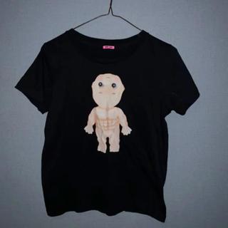 ジョンローレンスサリバン(JOHN LAWRENCE SULLIVAN)のjerry pink Tシャツ(Tシャツ/カットソー(半袖/袖なし))