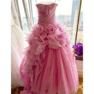 ヴェラウォン(Vera Wang)のVERAWANG ピンクヘイリー US4(ウェディングドレス)