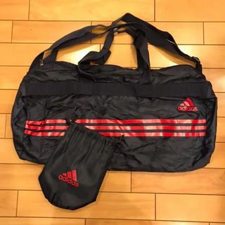 adidas - adidas☆スポーツバッグ☆ポケッタブル