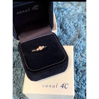 カナルヨンドシー(canal4℃)のカナル4C° 0.2ctダイヤモンドリング 指輪(リング(指輪))