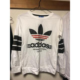 アディダス(adidas)のadidas 長袖カットソー(Tシャツ/カットソー(七分/長袖))