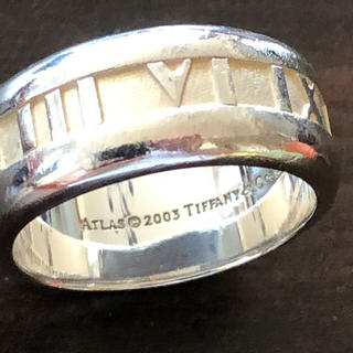 Tiffany & Co. - ティファニー アトラスリング シルバーリング