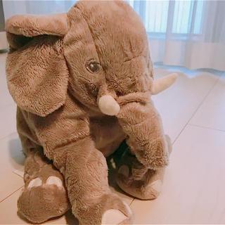 イケア(IKEA)のIKEA ゾウ ぬいぐるみ(ぬいぐるみ)