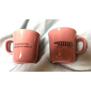 リサラーソン(Lisa Larson)の新品未使用 リサラーソン マイキー マグカップ 2個セット(食器)