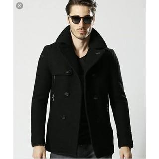 ダブルジェーケー(wjk)のwjk P-coat 定価¥84,240(税込)ブラック XL(ピーコート)