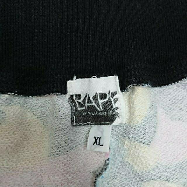 A BATHING APE(アベイシングエイプ)の bape ハーフパンツ メンズのパンツ(ショートパンツ)の商品写真
