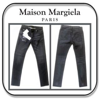 マルタンマルジェラ(Maison Martin Margiela)のメゾン マルジェラ  ストレッチ ジーンズ W30 アタリ加工 イタリア製(デニム/ジーンズ)