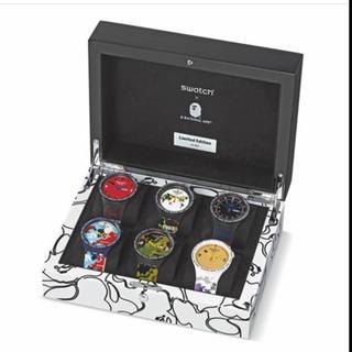 アベイシングエイプ(A BATHING APE)の国内5セット限定 BAPE xSWATCH  COMPLETE SET (腕時計(アナログ))
