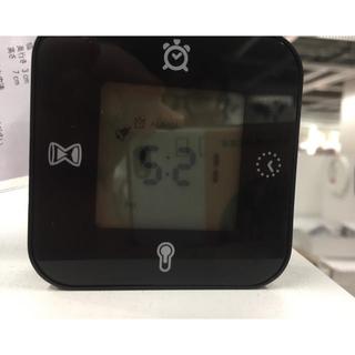 イケア(IKEA)のIKEAの多機能時計◇新品◇送料込(置時計)