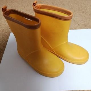 ニシマツヤ(西松屋)の長靴 レインブーツ 19cm 黄色(長靴/レインシューズ)