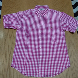 アベイシングエイプ(A BATHING APE)のbape  半袖シャツ(シャツ)