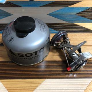シンフジパートナー(新富士バーナー)のsoto コンパクトストーブ +OD缶(ストーブ/コンロ)