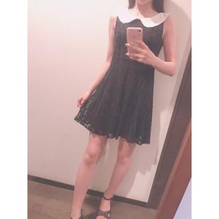 リズリサ(LIZ LISA)のワンピース♡黒♡LIZLISA♡penderie(ミニワンピース)