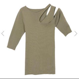 アメリヴィンテージ(Ameri VINTAGE)のカーキ(Tシャツ(半袖/袖なし))