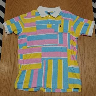 アベイシングエイプ(A BATHING APE)のbape ポロシャツ(ポロシャツ)