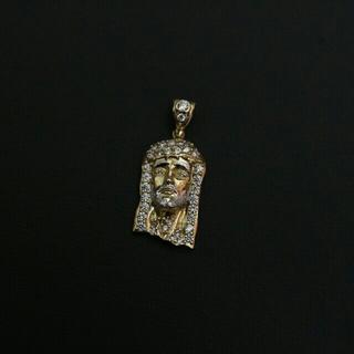 アヴァランチ(AVALANCHE)のアヴァランチ 10k YG ネックレス アバランチ ゴールド ジーザス(ネックレス)