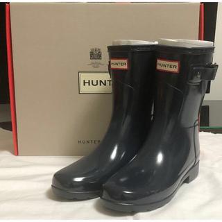 ハンター(HUNTER)の[ハンター] オリジナルショート グロス 22cm  HUNTER レインブーツ(レインブーツ/長靴)