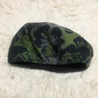 ヴィヴィアンウエストウッド(Vivienne Westwood)のヴィヴィアン サマーベレー帽(ハンチング/ベレー帽)
