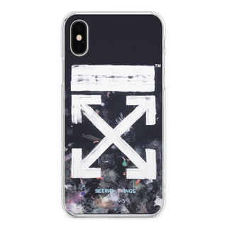 オフホワイト(OFF-WHITE)のiPhoneケース Off-White Galaxy風(iPhoneケース)