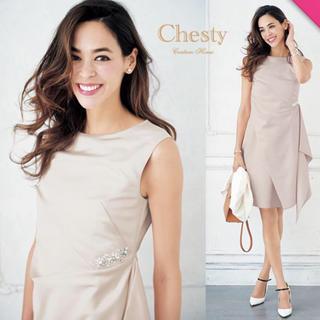 チェスティ(Chesty)の新品 チェスティ  2018SSビューティールックワンピース(ミディアムドレス)
