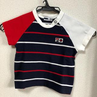フィラ(FILA)のFILA ボーダーTシャツ 80(Tシャツ)