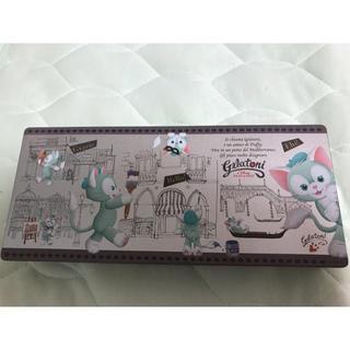 ディズニー(Disney)のディズニー 缶 ジェラトーニ メイクボックス(メイクボックス)