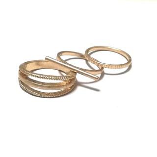 ジーユー(GU)のリング ゴールド(リング(指輪))