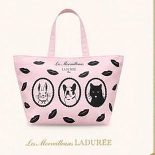 レメルヴェイユーズラデュレ(Les Merveilleuses LADUREE)のラデュレ ノベルティトートバッグ(トートバッグ)