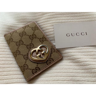 グッチ(Gucci)の正規品 GUCCI カードケース パスケース (名刺入れ/定期入れ)