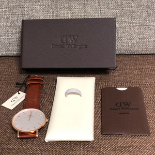 ダニエルウェリントン(Daniel Wellington)の【40㎜】ダニエル ウェリントン腕時計(腕時計(アナログ))