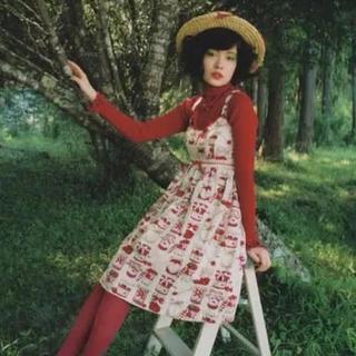 シャーリーテンプル(Shirley Temple)のシャーリーテンプル  ジャム瓶JSK ワンピース ジャム オフ白 ベビードール(ひざ丈ワンピース)