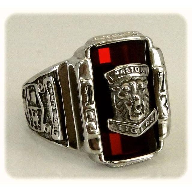 WALTON TIGERSカレッジリング・20号・商品番号ES-38 メンズのアクセサリー(リング(指輪))の商品写真