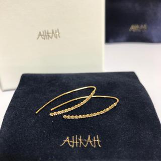 アーカー(AHKAH)のAHKAH ☆新品☆ ビリーブリーフピアス(ピアス)