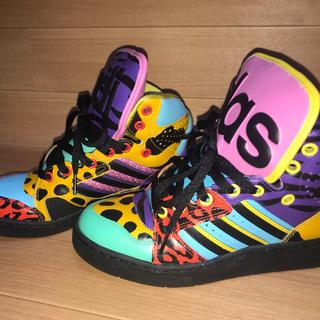 アディダス(adidas)のadidas アディダス × ジェレミースコットコラボ スニーカー(スニーカー)