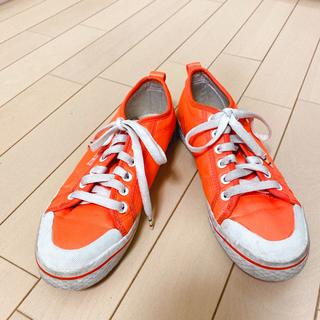 アディダス(adidas)のアディダス adidas オレンジ スニーカー(スニーカー)