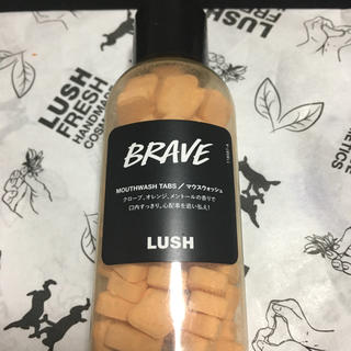 LUSH - ブレイブ マウスウォッシュ LUSH