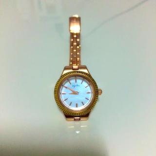 アガット(agete)のagete⁂ウォッチ 美品(腕時計)