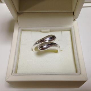 ◆シルバーリング 涙型 15号〜16号◆(リング(指輪))