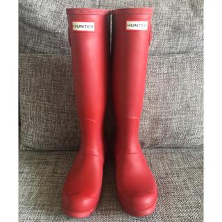 ハンター(HUNTER)のハンターレインブーツ3824.0赤長靴ユナイテッドアローズフリークスストア取扱(レインブーツ/長靴)