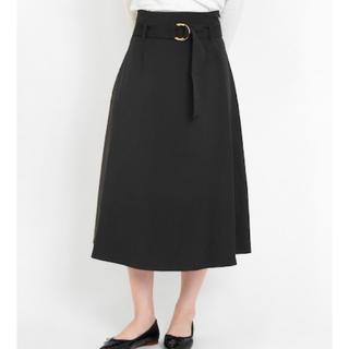LA MARINE FRANCAISE - 雑誌掲載 マリンフランセーズ ベルト付きフレアスカート