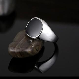 高級感◇ブラックオニキスリング 新品未使用(リング(指輪))