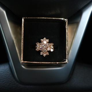 計2.00ct☆天然ダイヤモンドリング K18 YG(リング(指輪))