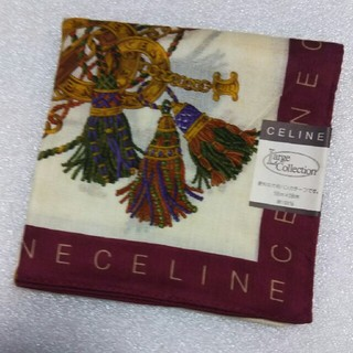 セリーヌ(celine)のセリーヌ☆大判ハンカチーフ58×58(バンダナ/スカーフ)