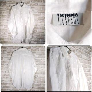 【DONNALASPADA】プルオーバーシャツ ゆるダボ  XLサイズ(シャツ/ブラウス(長袖/七分))