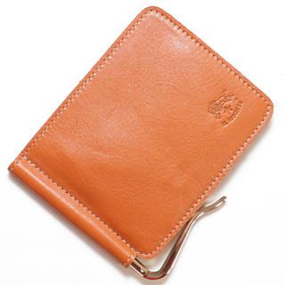4c5a337b6054 イルビゾンテ(IL BISONTE)の新品 正規品 イルビゾンテ 二つ折り 財布 マネークリップ レザー ヤキヌメ