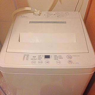 ムジルシリョウヒン(MUJI (無印良品))の無印良品  洗濯機(洗濯機)